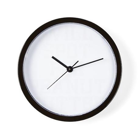will-spot-for-carbs-w Wall Clock