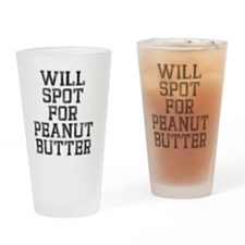 will-spot-for-pb Drinking Glass