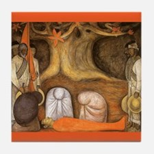 Diego Rivera Art Tile Revolution Germination
