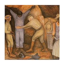 Diego Rivera Art Tile Set - The Exploiters P1of2