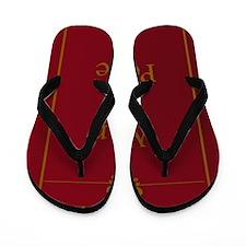WarAndPeace_thin Flip Flops