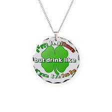 italianirish1 Necklace Circle Charm