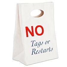 No Tags No Restarts Canvas Lunch Tote