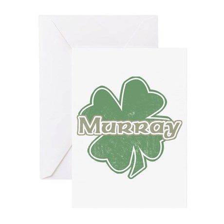 """Shamrock - Murray"" Greeting Cards (Pk of 10)"