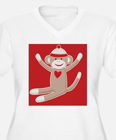 sock monkey ipad T-Shirt