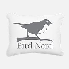 bird-nerd Rectangular Canvas Pillow