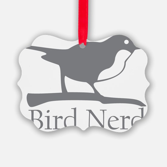 bird-nerd Ornament
