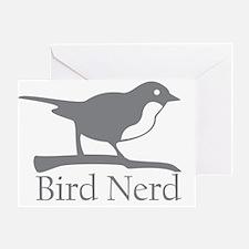 bird-nerd Greeting Card