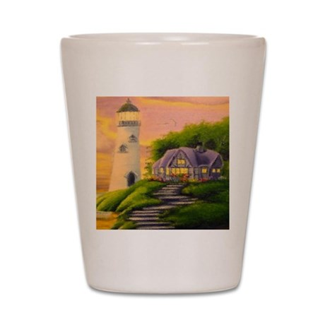 lighthouse Shot Glass