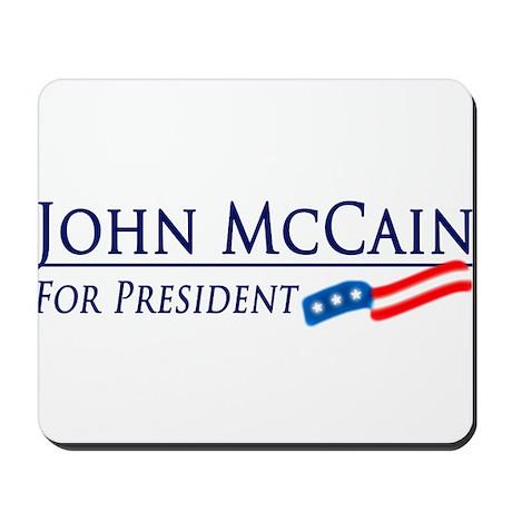 John McCain for President Mousepad