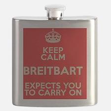 Breitbart-KeepCalm Flask