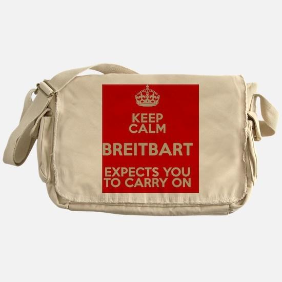 Breitbart-KeepCalm Messenger Bag