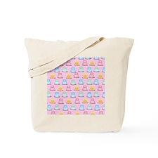 Trendy Owls pink Tote Bag