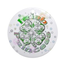 irishprincess Round Ornament