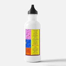 NAMES HURT POSTER 2335 Water Bottle