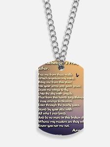 Alzheimers_prayer_calligrapher_tals_minis Dog Tags