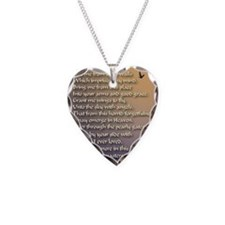 Alzheimers_prayer_calligraphe Necklace