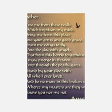 Alzheimers_prayer_calligrapher_ta Rectangle Magnet