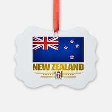 New Zealand (Flag 10) 2 Ornament