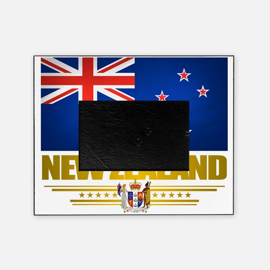 New Zealand (Flag 10) 2 Picture Frame