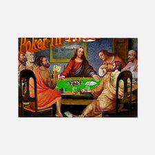 PokerMerkGraphic Rectangle Magnet