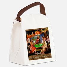 PokerMerkGraphic Canvas Lunch Bag
