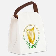 logo7inch Canvas Lunch Bag