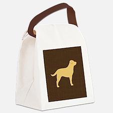 yellowlabpillow Canvas Lunch Bag