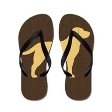 yellowlabpillow Flip Flops