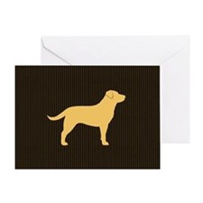 yellowlabbigbag Greeting Card