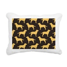 yellowlabscoin Rectangular Canvas Pillow