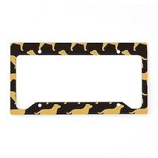 yellowlabscoin License Plate Holder