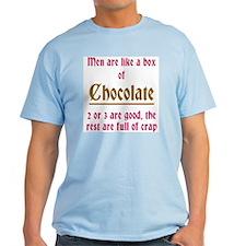 Men Are Like Chocolate T-Shirt