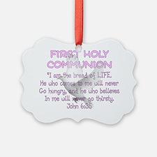 first communion dove Ornament