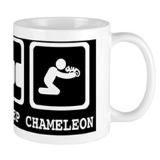 Eat, Sleep, Chameleon Mug