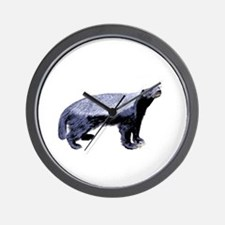 Badger Plain -dk Wall Clock