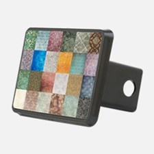 Patchwork Quilt Squares pa Hitch Cover