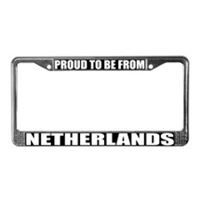 Netherlands License Plate Frame
