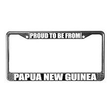 Papua New Guinea License Plate Frame