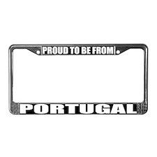 Portugal License Plate Frame
