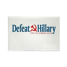 Cute Anti hillary clinton Rectangle Magnet