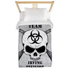 Zombie Response Team Irving Twin Duvet