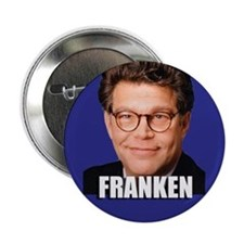 Franken for US Senate Button