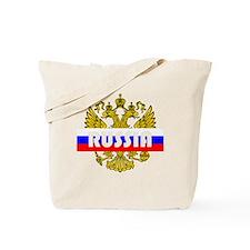 Russian Eagle Tote Bag
