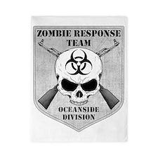 Zombie Response Team Oceanside Twin Duvet