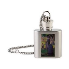 441 Seurat J2 Flask Necklace