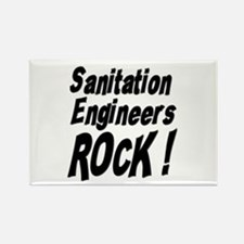 Sanitation Engineers Rock ! Rectangle Magnet