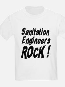 Sanitation Engineers Rock ! Kids T-Shirt