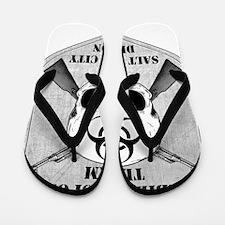 Zombie Response Team Salt Lake City Flip Flops