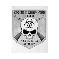 Zombie Response Team Santa Rosa Twin Duvet